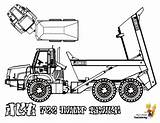 Coloring Construction Pages Jcb Truck Dump Paver Forestry Rugged Printable Yescoloring Road Highway Coolest sketch template