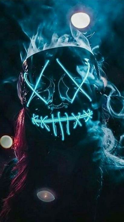 Wallpapers Boys Smoke Backgrounds Graffiti Mask Neon