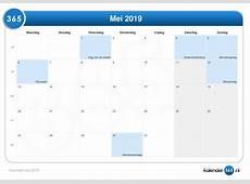 Kalender mei 2019