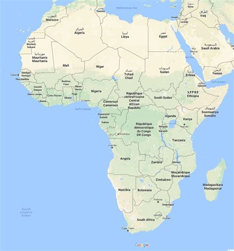 Āfrikas karte