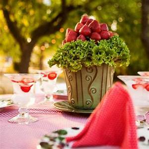 Summer garden party theme – Table decorating ideas with