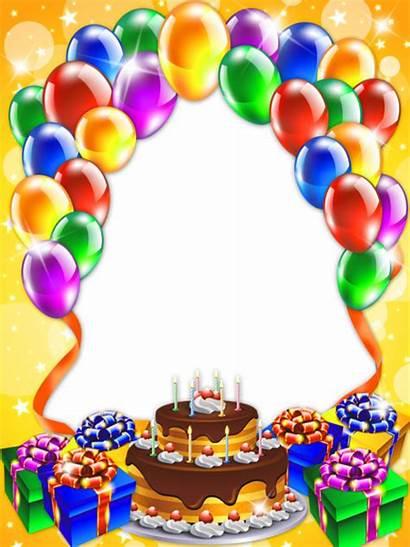 Birthday Happy Transparent Frame Frames Yopriceville Clipart
