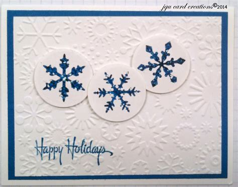 clean  simple holiday card  easily  turned