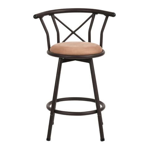 eggree  wood seat barcounter swivel metal bar stool