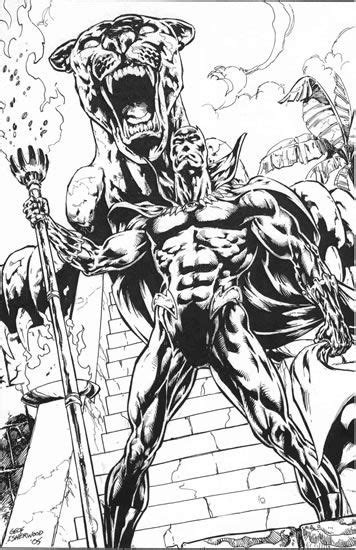 black panther marvel coloring pages lineart hero