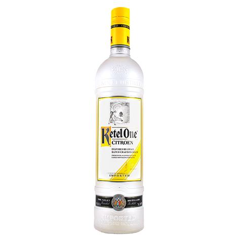 Citroen Vodka by Ketel One Citroen Vodka Barton S Wines And Spirits