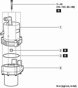 Mazda 3 Service Manual - Electric Power Steering Oil Pump Component Disassembly  Assembly