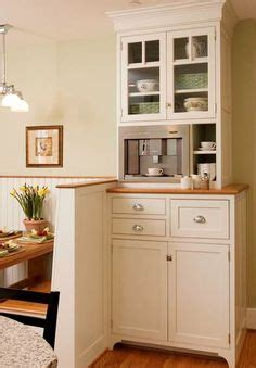 Kitchen Breakfast Nook Butlers Pantry by More Design Build Built In Coffee Station With Miele