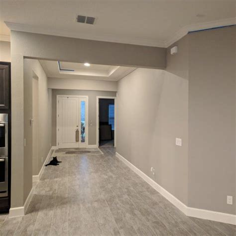 Paint Color SW 7023 Requisite Gray from Sherwin Williams
