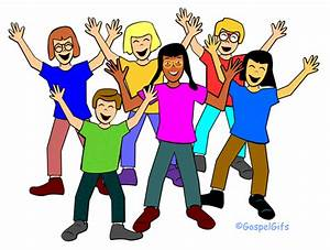 Group Of Happy People Clipart | Clipart Panda - Free ...