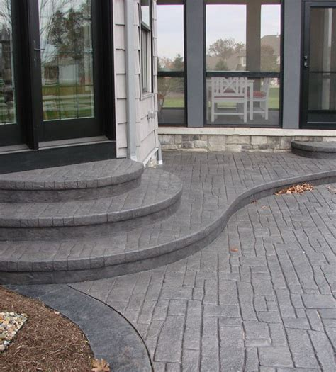 raised concrete patio cost best 25 concrete patios ideas on concrete