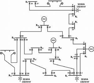 Single Line Diagram Of Ieee 30