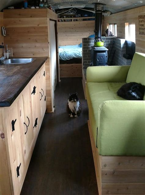This Converted School Bus Home Asks Just $25k