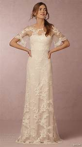 Bhldn spring 2016 collection featuring exclusive for Flutter sleeve wedding dress
