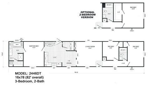 5 Bedroom Mobile Home Floor Plans