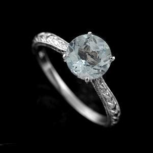 Antique Style Aquamarine $1799. Twilight Inspired Wedding Rings. Navy Blue Rings. Paper Pieced Wedding Rings. Yellow Crystal Rings. Captain America Rings. Traditional Wedding Greek Wedding Rings. Magical Engagement Rings. Cathy Middleton Engagement Rings