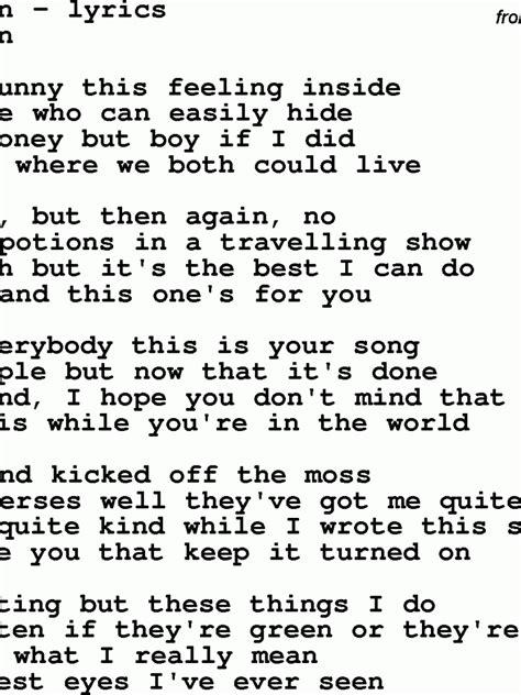 Shayad lyrics are sung by arijit singh in love aaj kal 2020 starring kartik aaryan sara ali khan, song was written by irshad kamil, composed by pritam. Free download Love Songs Lyrics 11 Hd Wallpaper Wallpaper 1992x1177 for your Desktop, Mobile ...