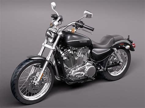 Harley Davidson Sportster Models by 3d Model Of Harley Davidson Sportster 1200