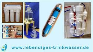 Regenwasserfilter Selber Bauen : osmoseanlage im vergleich zu anderen wasserfiltern f r ~ Lizthompson.info Haus und Dekorationen