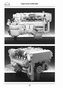 Man Marine Diesel Engine D 2842 Lye    Lze    Le 401  402  403