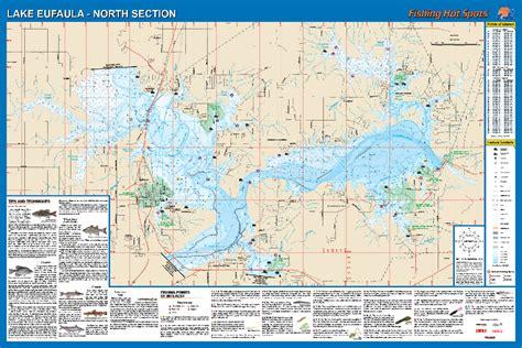 35 Map Of Lake Eufaula Oklahoma Maps Database Source