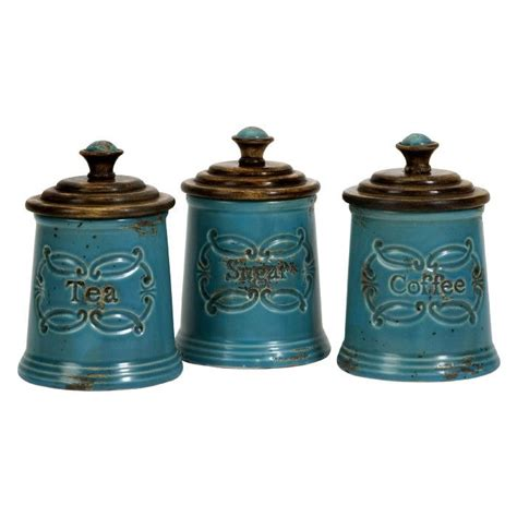 teal kitchen canisters kitchens