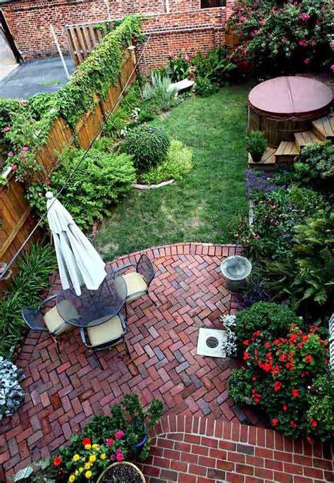 small backyard ideas      spacious
