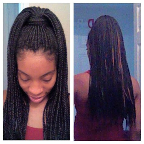 of haircut box braid style poetic justice high ponytail me 3075
