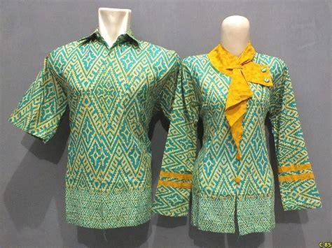 model baju batik atasan wanita pria terbaru