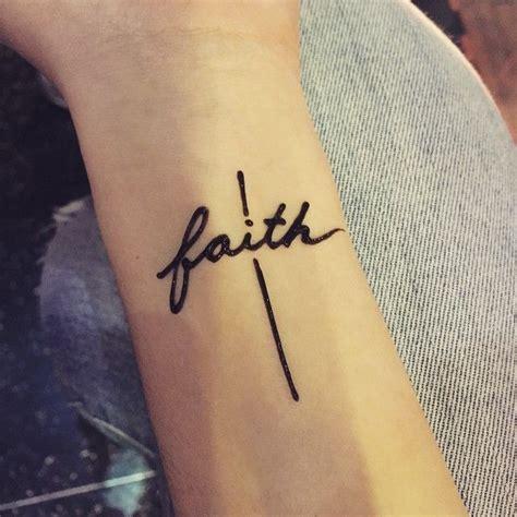 Best 25+ Faith Hope Love Tattoo Ideas On Pinterest Small