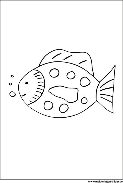 fisch ausmalbild fuer kinder ab  jahren