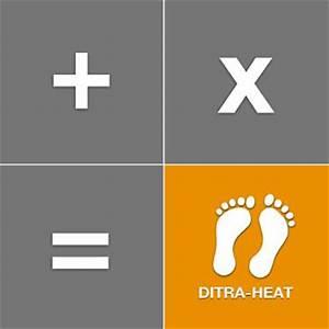 DITRA HEAT Online Calculator Schluterca
