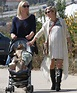 Elsa Pataky goes for family day out to the market with ...