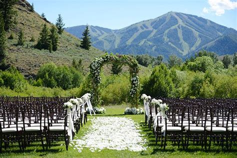 Summer Wedding In Sun Valley, Idaho