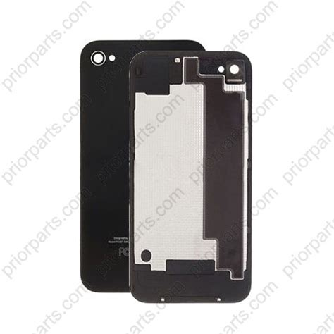iphone 4s back glass for iphone 4s back glass cover black