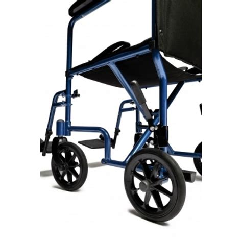 Transport Chair Vs Wheelchair by Everest Aluminum Transport Chair Companion