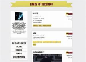 Harry Potter Haiku From Google Poems to Harry Potter