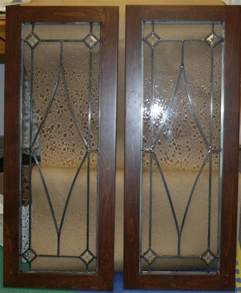 leaded glass cabinet doors blue mountain stained glass leaded glass cabinet door