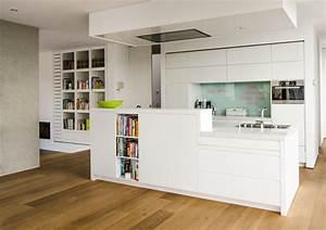 Küche Mit Küchenblock : k che eiche weiss reiner knabl m belwerkstatt ~ Markanthonyermac.com Haus und Dekorationen