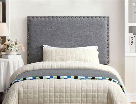 bedroom with grey upholstered headboard grey fabric upholstered headboard caravana furniture