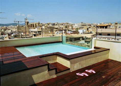 hotels  rooftop pools  palma de mallorca