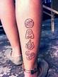Fuego, agua, tierra y aire: tatuajes que representan los 4 ...