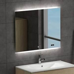 Led Pour Salle De Bain : miroir led spoty pour la salle de bains ~ Edinachiropracticcenter.com Idées de Décoration