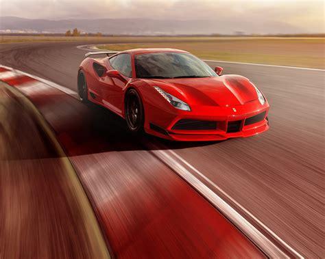 Fonds Decran 1280x1024 2017 Novitec Rosso Ferrari 488 Gtb