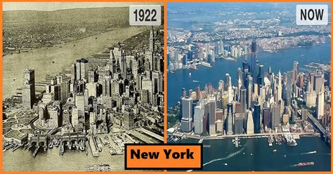 8 Then and Now Photos of Popular Cities Showing How Much ...