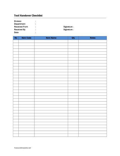 handover notes template  eczasolinfco