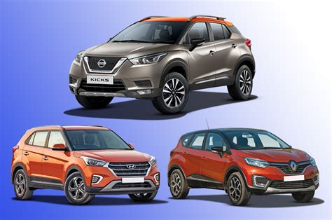 nissan kicks  rivals specifications comparison