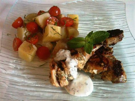 la cuisine de mes envies poulet au yaourt et à la menthe recette légère la