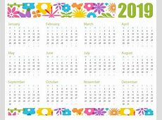2019 Printable Calendar Latest Calendar