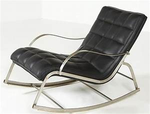 Modern Rocking Chairs with Metal Runners : Modern Rocking ...